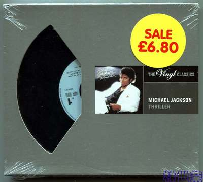 MICHAEL JACKSON-THRILLER SPECIAL EDITION-2005-THE VINYL CLASSICS-德国版