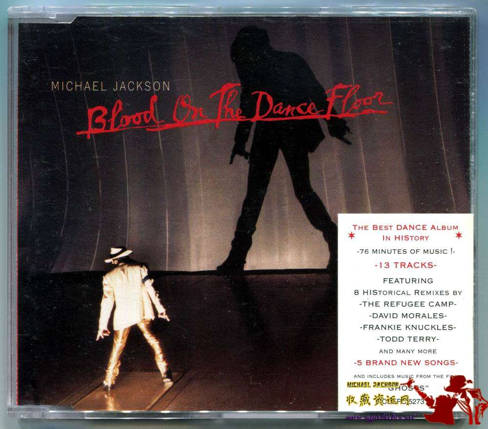 1997-MICHAEL JACKSON-BLOOD ON THE DANCE FLOOR-4 TRACKS-SOUTH AFRICA CDSINGLE-南非版