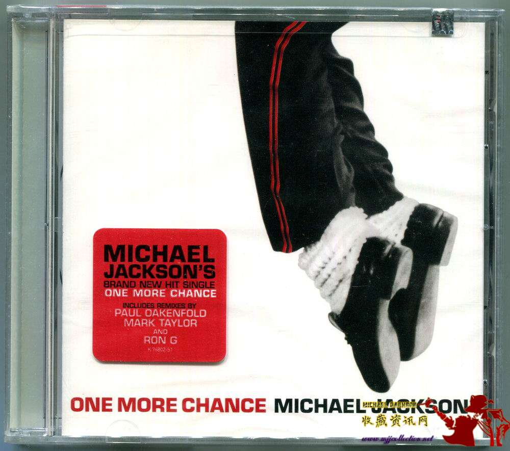 2003-MICHAEL JACKSON-ONE MORE CHANCE-5 TRACKS-USA CDSINGLE-美国版