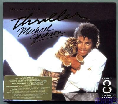 MICHAEL JACKSON-THRILLER SPECIAL EDITION-2001-欧洲首版