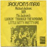 1972-THE JACKSON FIVE-BEN&LOOKIN'THROUGH THE WINDOWS&LITTLE BITTY PRETTY ONE-荷兰版7寸单曲唱片