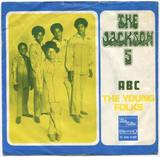 1970-THE JACKSON FIVE-ABC&THE YOUNG FOLKS-荷兰版7寸单曲唱片